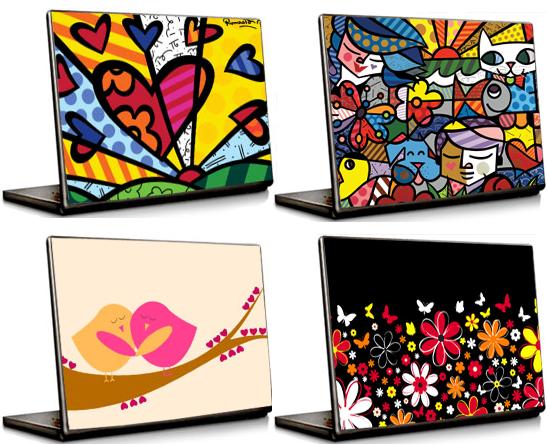 capas criativas notebook