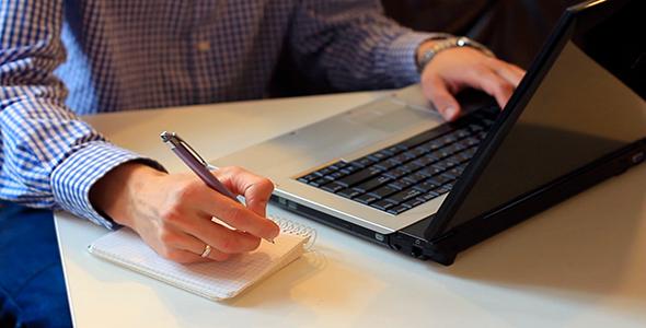 notebook para o trabalho