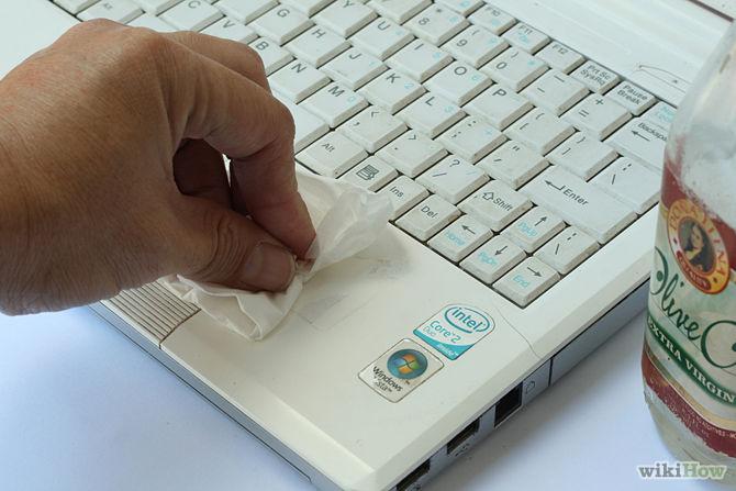 como limpar um notebook