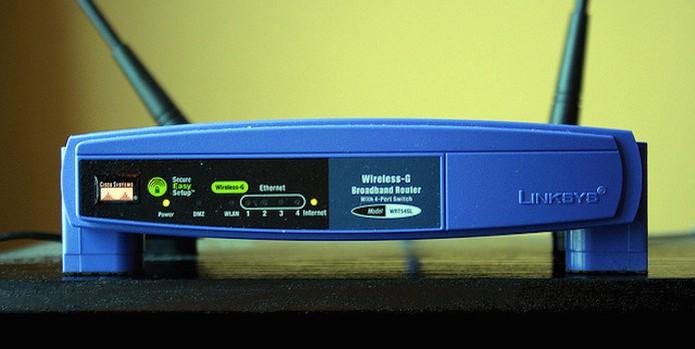 abair porta roteador modem