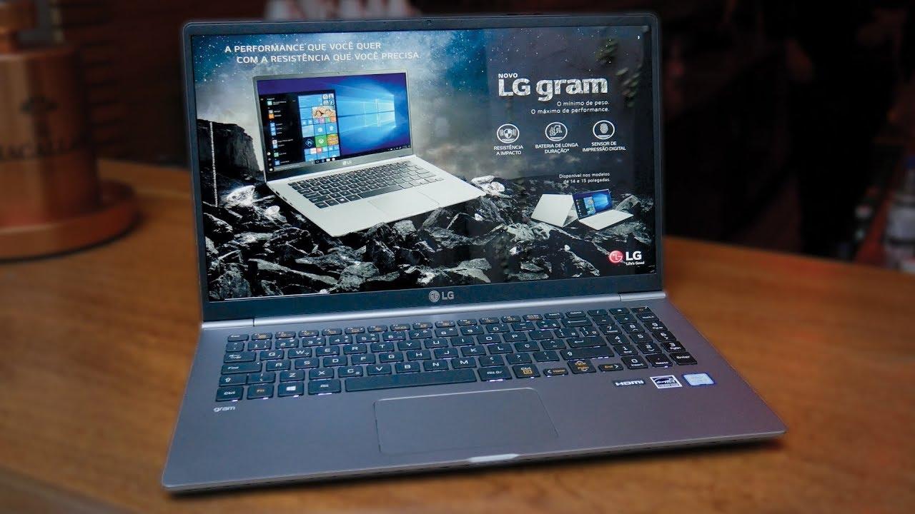 Notebook LG Gram