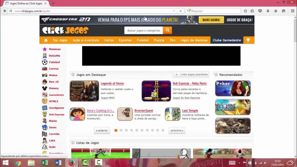 sites para se divertir na internet
